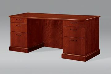 Belmont Drawers Executive Desk by Flexsteel Contract
