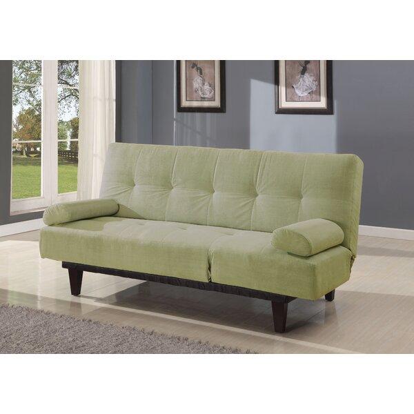 Propst Microfiber Convertible Sleeper Sofa by Winston Porter Winston Porter