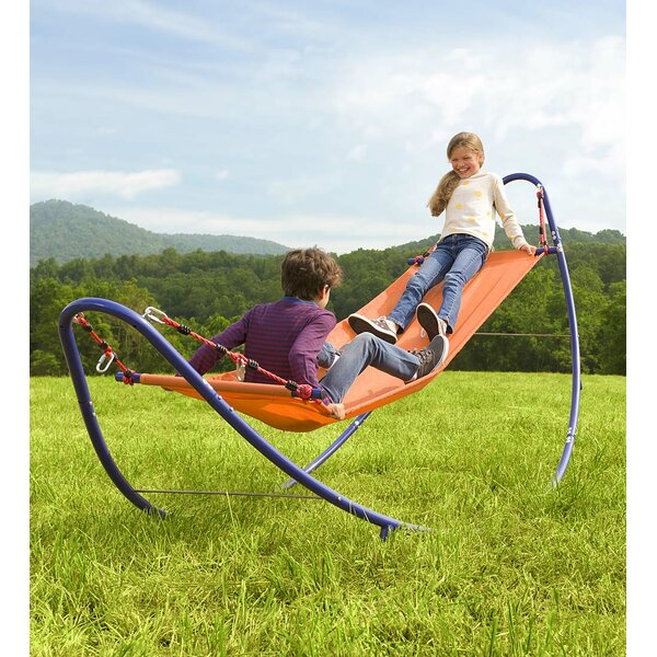 Rockin 2-in-1 Hammock with Stand by HearthSong