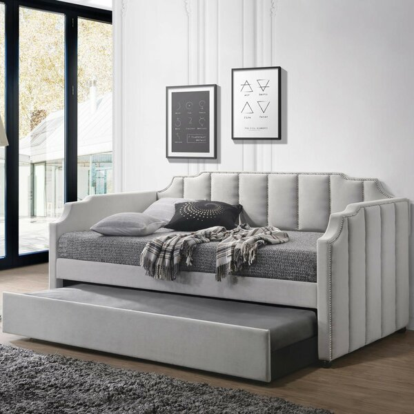 Gerry Twin Daybed with Trundle by Red Barrel Studio
