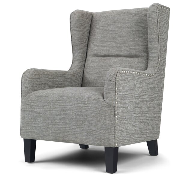 Almaden Wingback Chair by Alcott Hill