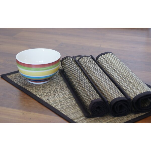 Vaayil Handmade Coconut Stick Placemat (Set of 4) by Leaf & Fiber