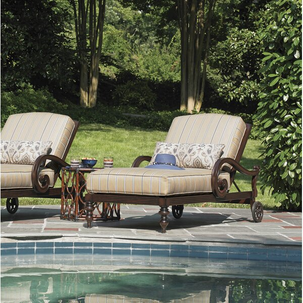 Sands Chaise Lounge with Cushion