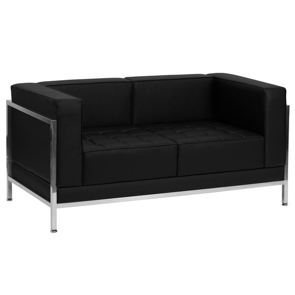 Pyron Contemporary Loveseat by Latitude Run