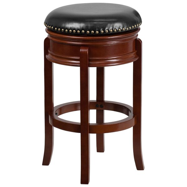 Jory 30 Swivel Bar Stool by Darby Home Co