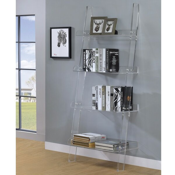 Leigh Charmed Ladder Bookcase by Rosdorf Park