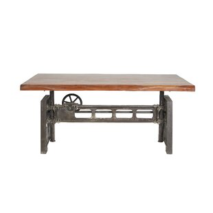Kurth Industrial Rectangular Dining Table by Williston Forge