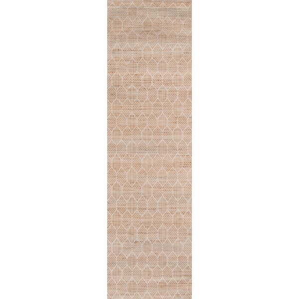 Supriya Hand-Woven Natural Area Rug by Gracie Oaks