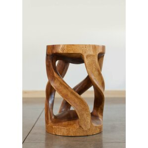 Loon Peak Santa Fe Springs Circular Twist End Table