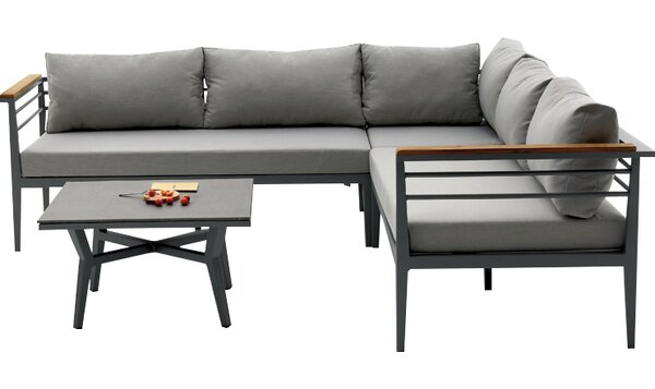 Agora Skyros 3 Piece Sectional Set with Cushions by Brayden Studio