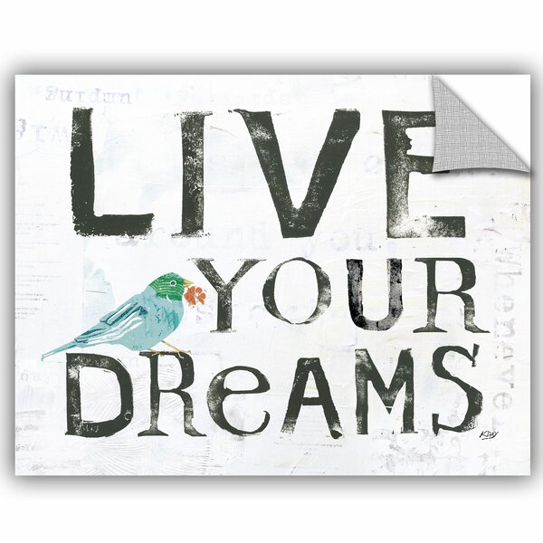 Koziol Live Your Dreams Wall Decal by Zipcode Design