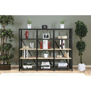 Roux 4 Tier Etagere Bookcase