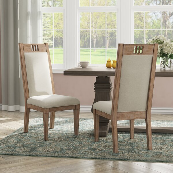 Ariel Upholstered Dining Side Chair (Set of 2) by Gracie Oaks