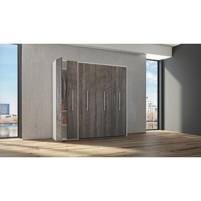 Halo Bed Miami Murphy Bed Size: Queen