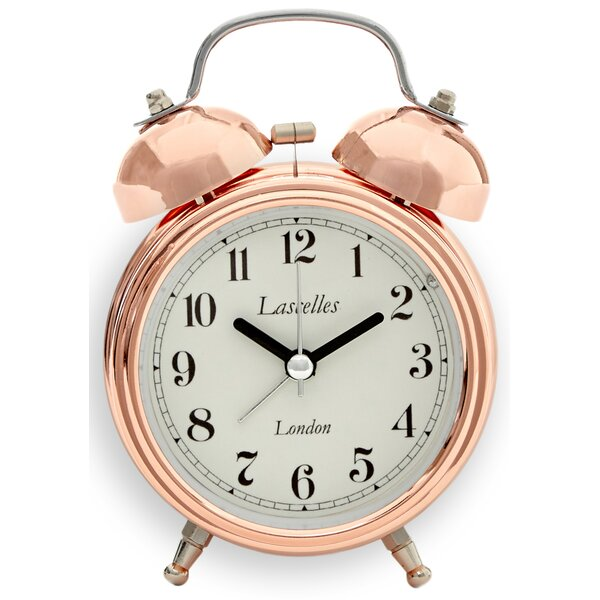 Bell Alarm Mental Clock by Lascelles London