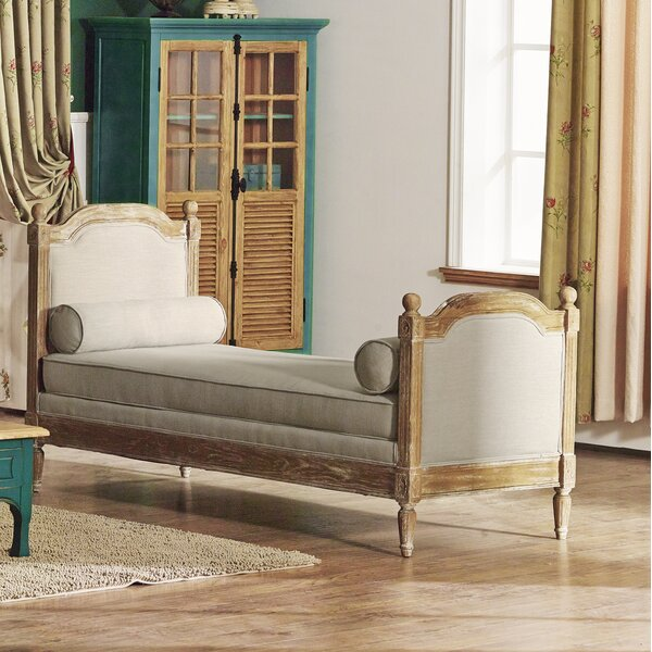 Barber Upholstered Bench by One Allium Way