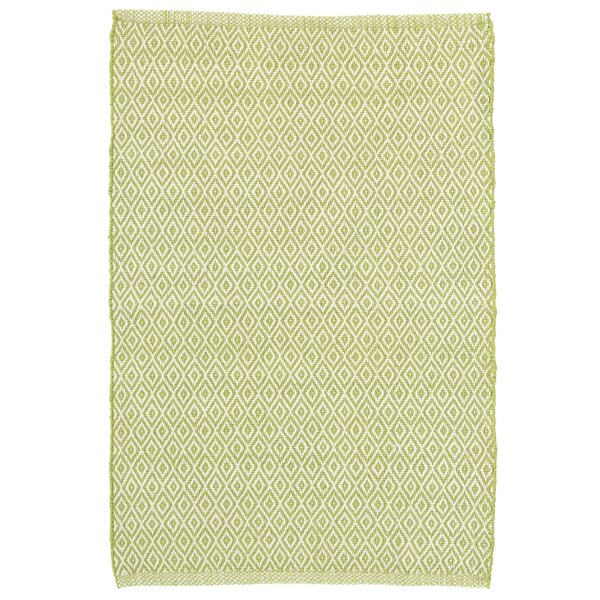Crystal Green Indoor/Outdoor Area Rug by Dash and Albert Rugs