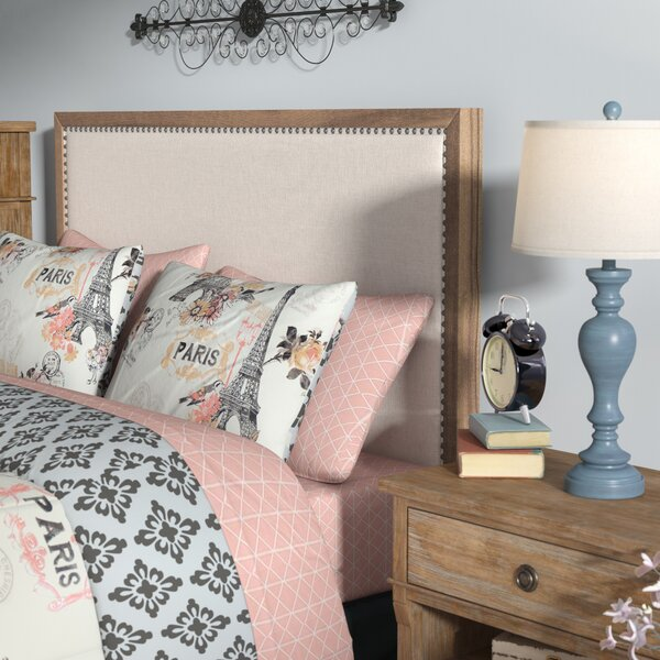 Wallingford Upholstered Panel Headboard by Feminine French Country