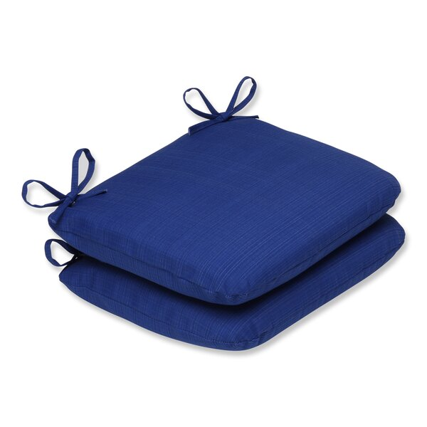 Fresco Indoor/Outdoor Seat Cushion (Set of 2) by Pillow Perfect