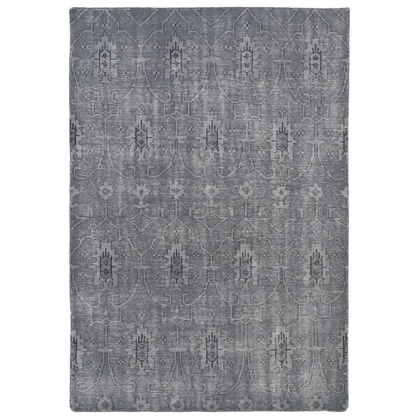 Anjali Grey Area Rug by Mistana