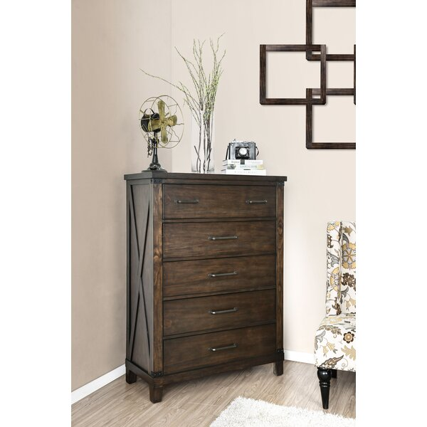 Daramanivong 5 Drawer Chest by Loon Peak