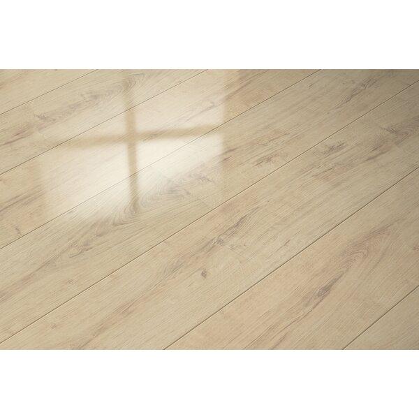 7 x 51 x 9mm Oak Laminate Flooring in Beige by ELESGO Floor USA