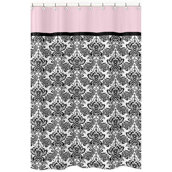 Sophia Cotton Shower Curtain by Sweet Jojo Designs