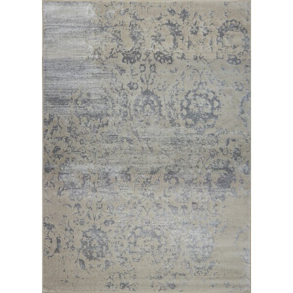 Lapoint Champagne/Cream Area Rug by House of Hampton