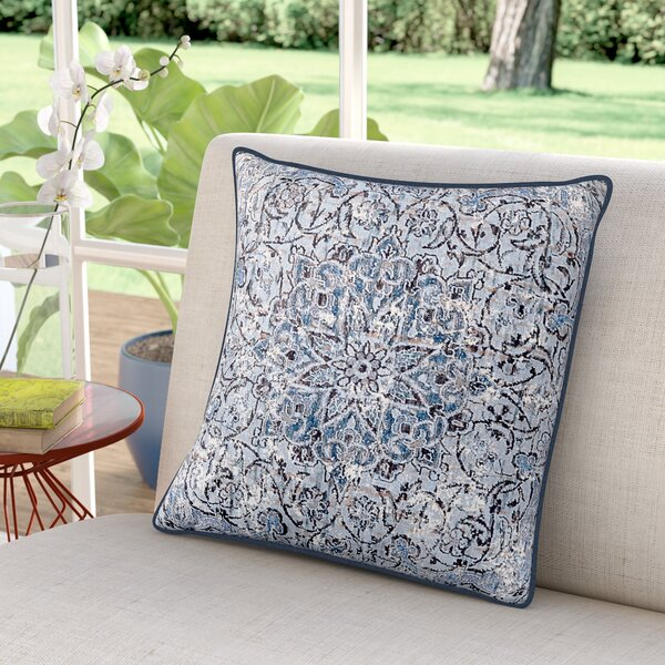 Helina Throw Pillow by Bungalow Rose