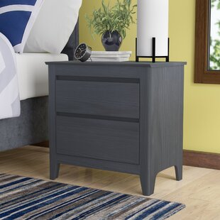 Dringenberg Espresso 2 Drawer Nightstand By Zipcode Design