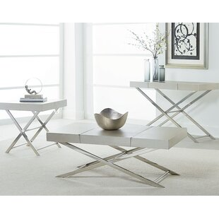 Top Reviews Ava 3 Piece Coffee Table Set ByStandard Furniture