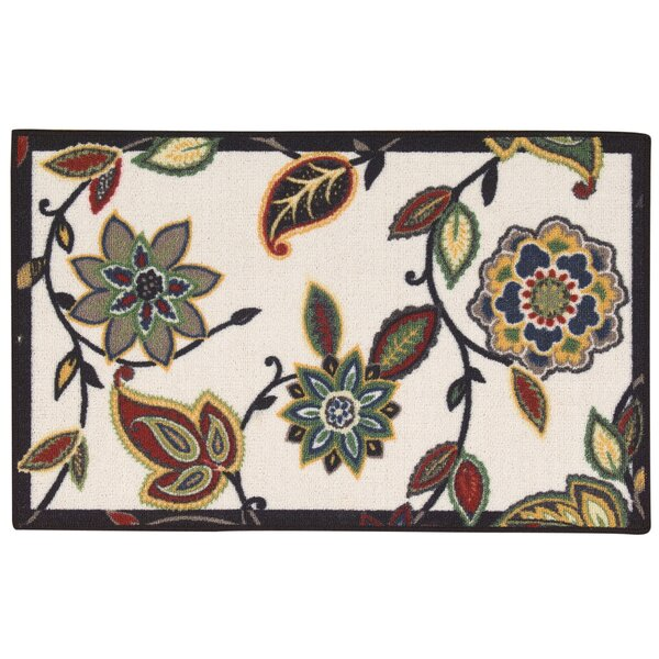 Fancy Free & Easy Lively Trail Beige/Brown Area Rug by Waverly