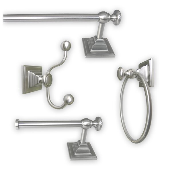 Madison 4 Piece Bathroom Hardware Set by Jollen Home Creation