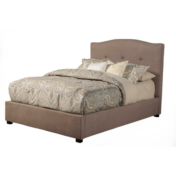 Fancher Poplar Wood Tufted Upholstered Standard Bed by Darby Home Co