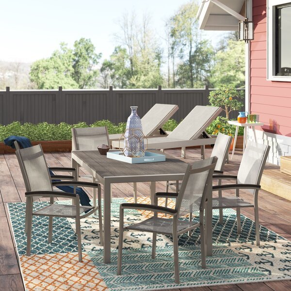 David 9 Piece Patio Set by Wade Logan