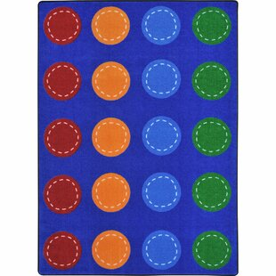 Shop for Amalthea Spaces and Places Blue Area Rug By Zoomie Kids