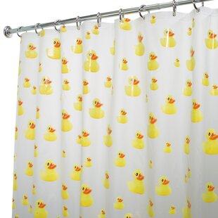 Comparison PVC Ducks Shower Curtain ByInterDesign