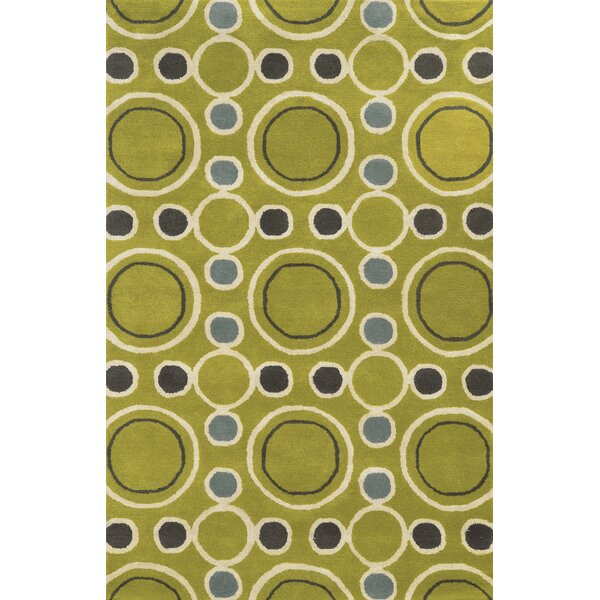 Rosslare Hand-Tufted Gold Area Rug by Meridian Rugmakers
