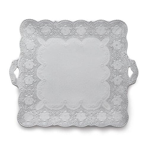 Merletto Square Platter by Arte Italica