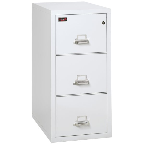 Fireproof 3 Drawer Vertical Filing Cabinet by FireKing