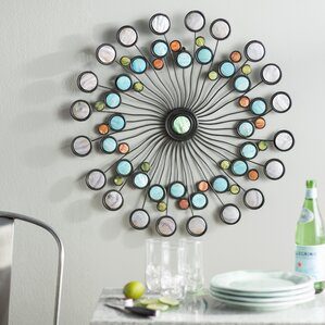 Geometric Metal Wall Art abstract & geometric metal wall art you'll love | wayfair
