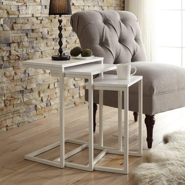 Zenia 3 Piece Nesting Tables by Laurel Foundry Modern Farmhouse