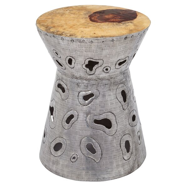 Arnaldo Paisley Accent Stool by Bloomsbury Market