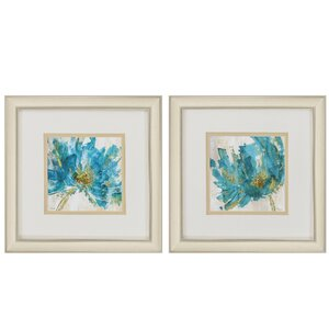 Infusion 2 Piece Framed Painting Print Set by Propac Images