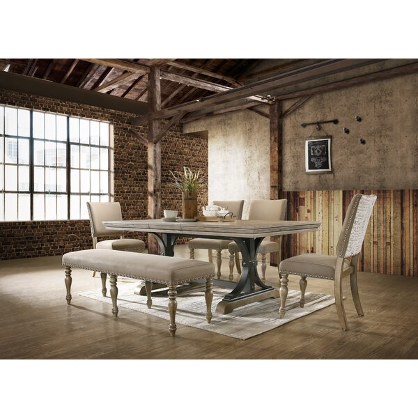 Dasher 6 Piece Drop Leaf Dining Set by One Allium Way