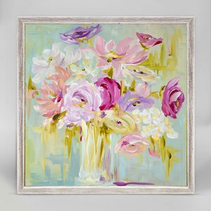 'Pastel Bouquet' Print by GreenBox Art