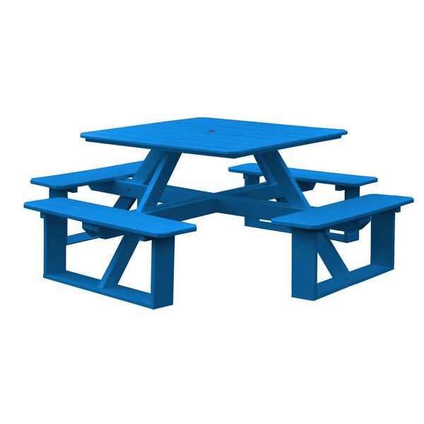 Bathilda Plastic Picnic Table By Red Barrel Studio