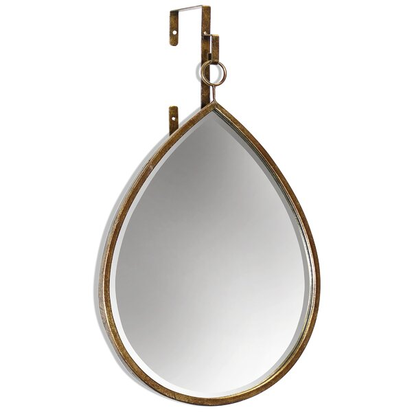 Cory Teardrop Accent Mirror by Gracie Oaks