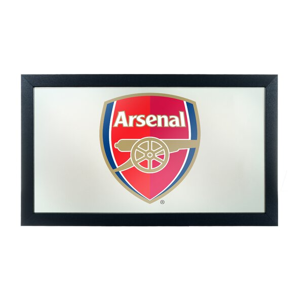 English Premier League Framed Logo Accent Mirror by Trademark Global