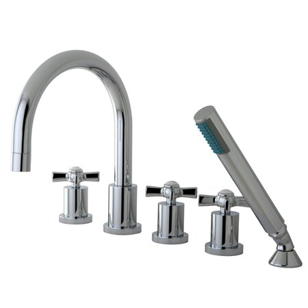 Millennium 5 Piece Roman Tub Faucet by Kingston Brass